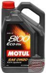 MOTUL 8100 ECO-lite 0W20 - 5L