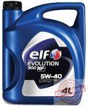 ELF EVOLUTION 900 NF 5W40 - 4L