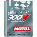 MOTUL 300V HIGHT RPM 0W-20 - 2L