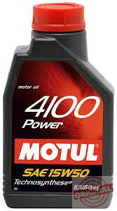 MOTUL 4100 POWER 15W-50 - 1L