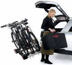 Vonóhorogra szerelhető kerékpártartók