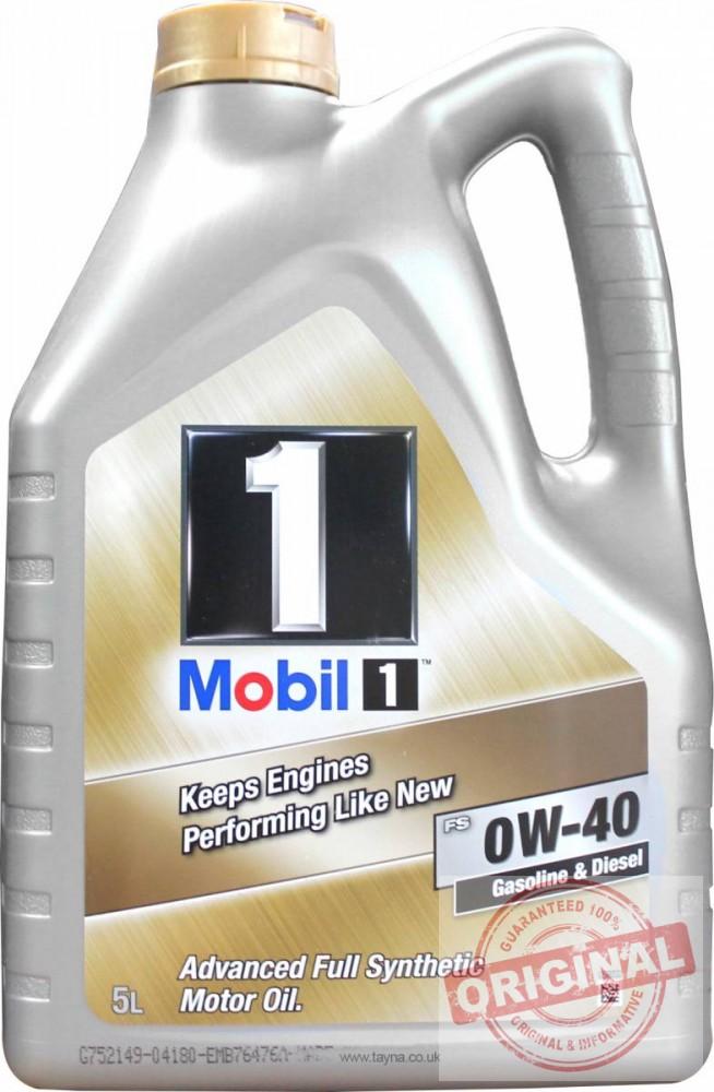 MOBIL 1 NEW LIFE 0W-40 - 5L