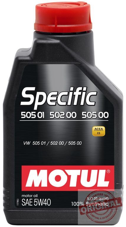 MOTUL SPECIFIC 505 01-502 00 5W-40 - 1L