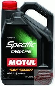 MOTUL SPECIFIC CNG/LPG 5W40 - 5L