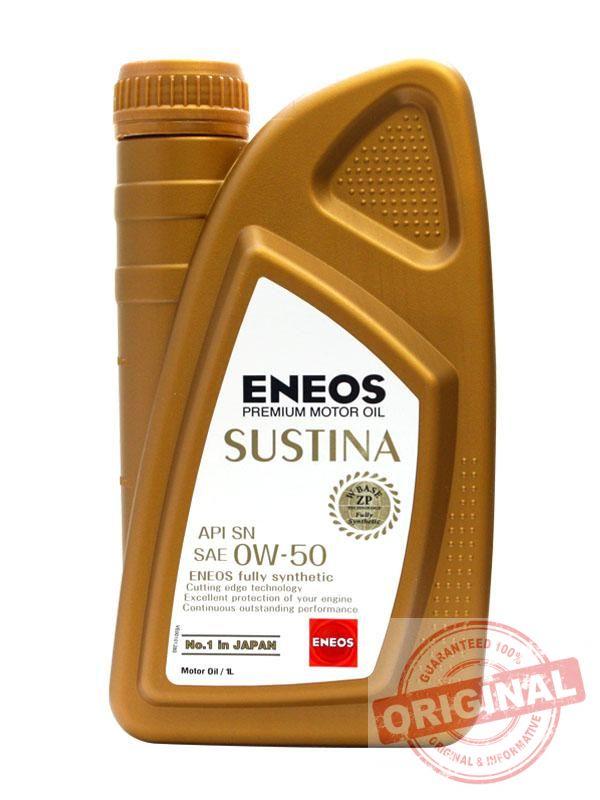 ENEOS Sustina 0W-50 - 1L