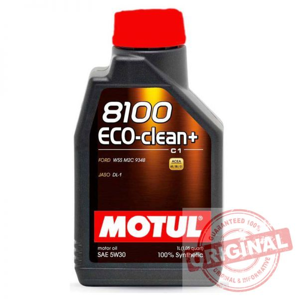 MOTUL 8100 ECO-CLEAN+ 5W-30 - 1L