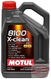 MOTUL 8100 X-CLEAN 5W-40 - 5L