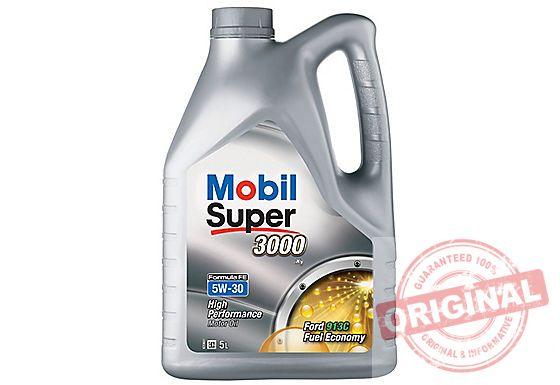 MOBIL SUPER 3000 X1 FORMULA FE 5W-30 - 5L
