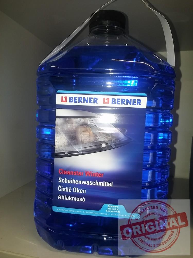 Berner téli szélvédőmosó koncentrátum - 5L