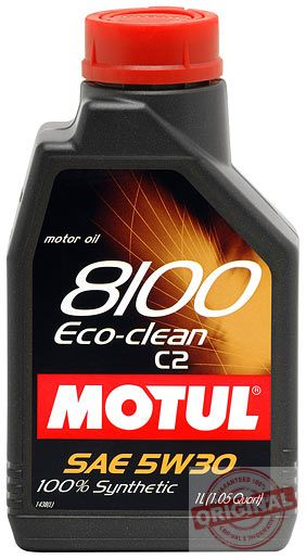 MOTUL 8100 ECO-CLEAN 5W-30 - 1L