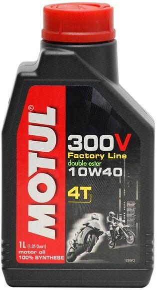 MOTUL 300V 4T FACTORY LINE 10W-40 - 1L