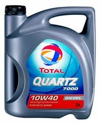TOTAL QUARTZ DIESEL 7000 10W40 - 5L