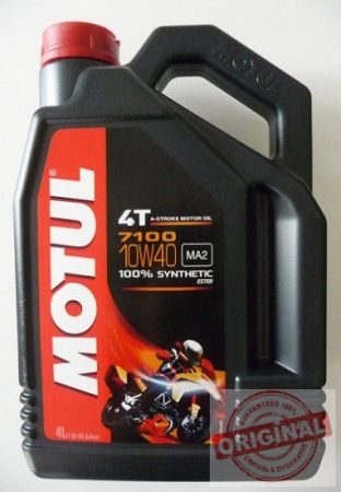 MOTUL 7100 4T ESTER 10W-40 - 4L
