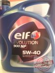 ELF EVOLUTION 900 NF 5W40 - 5L