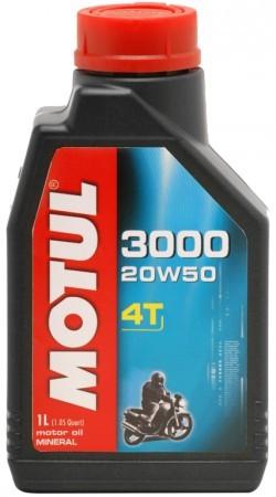 MOTUL 3000 4T 20W-50 - 1L