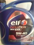ELF EVOLUTION 900 SXR 5W-40 - 4L