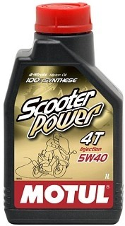 MOTUL SCOOTER POWER 4T 5W-40 - 1L