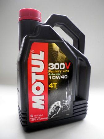 MOTUL 300V 4T FACTORY LINE 10W-40 - 4L