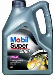 MOBIL SUPER 2000 X1 10W-40 - 4L
