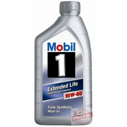 MOBIL 1 EXTENDED LIFE 10W-60 - 1L