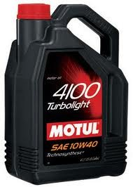 Motul 4100 Turbolight 10W40 - 4L