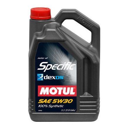 MOTUL SPECIFIC DEXOS 2 5W30 - 5L