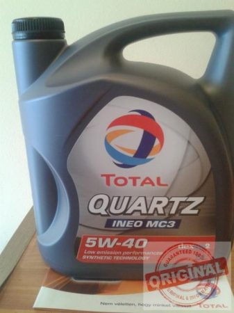 TOTAL QUARTZ INEO C3 5W40 - 5L