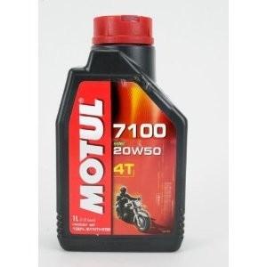 MOTUL 7100 4T ESTER 20W-50 - 1L