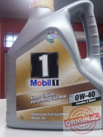 MOBIL 1 FS 0W-40 - 4L (Volt New Life 0W-40)