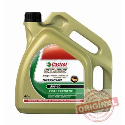 CASTROL EDGE FST TURBO DIESEL 5W-40 - 4L